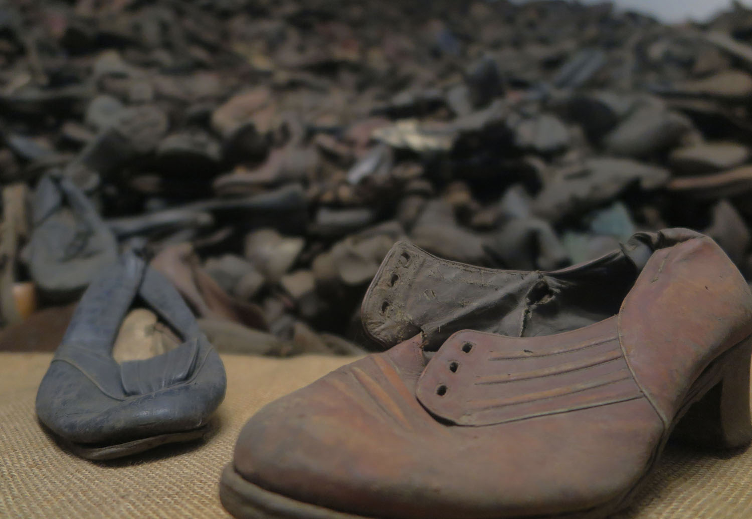 Poland-Auschwitz-Plunder-Shoes
