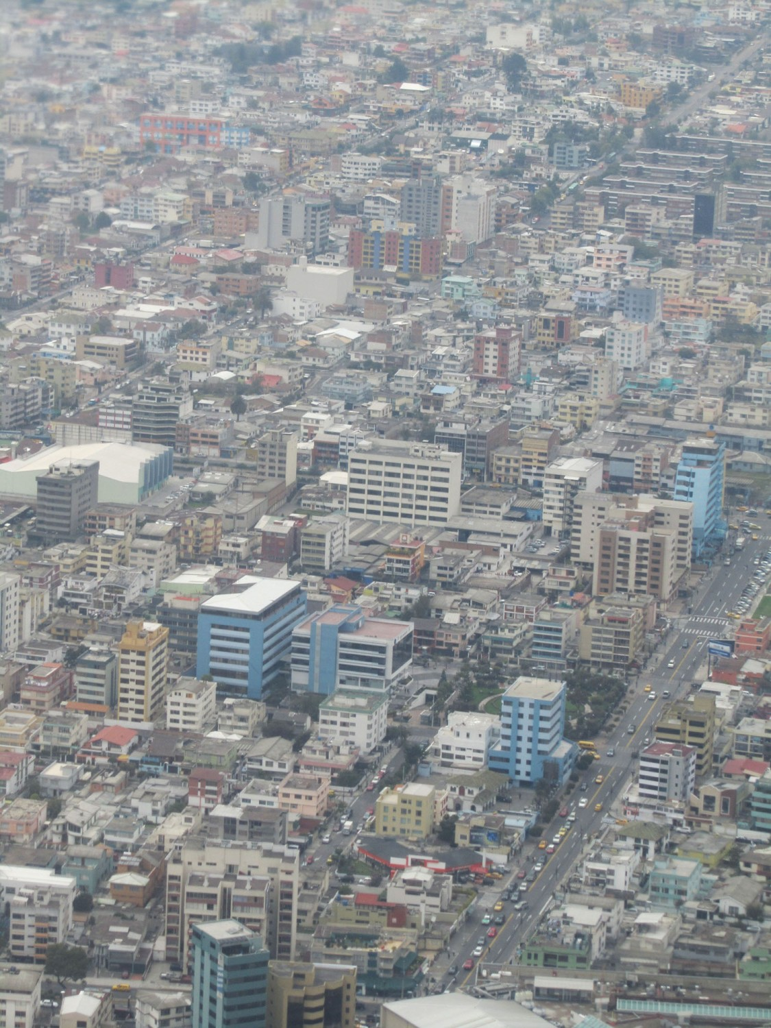 Ecuador-Quito-From-Air