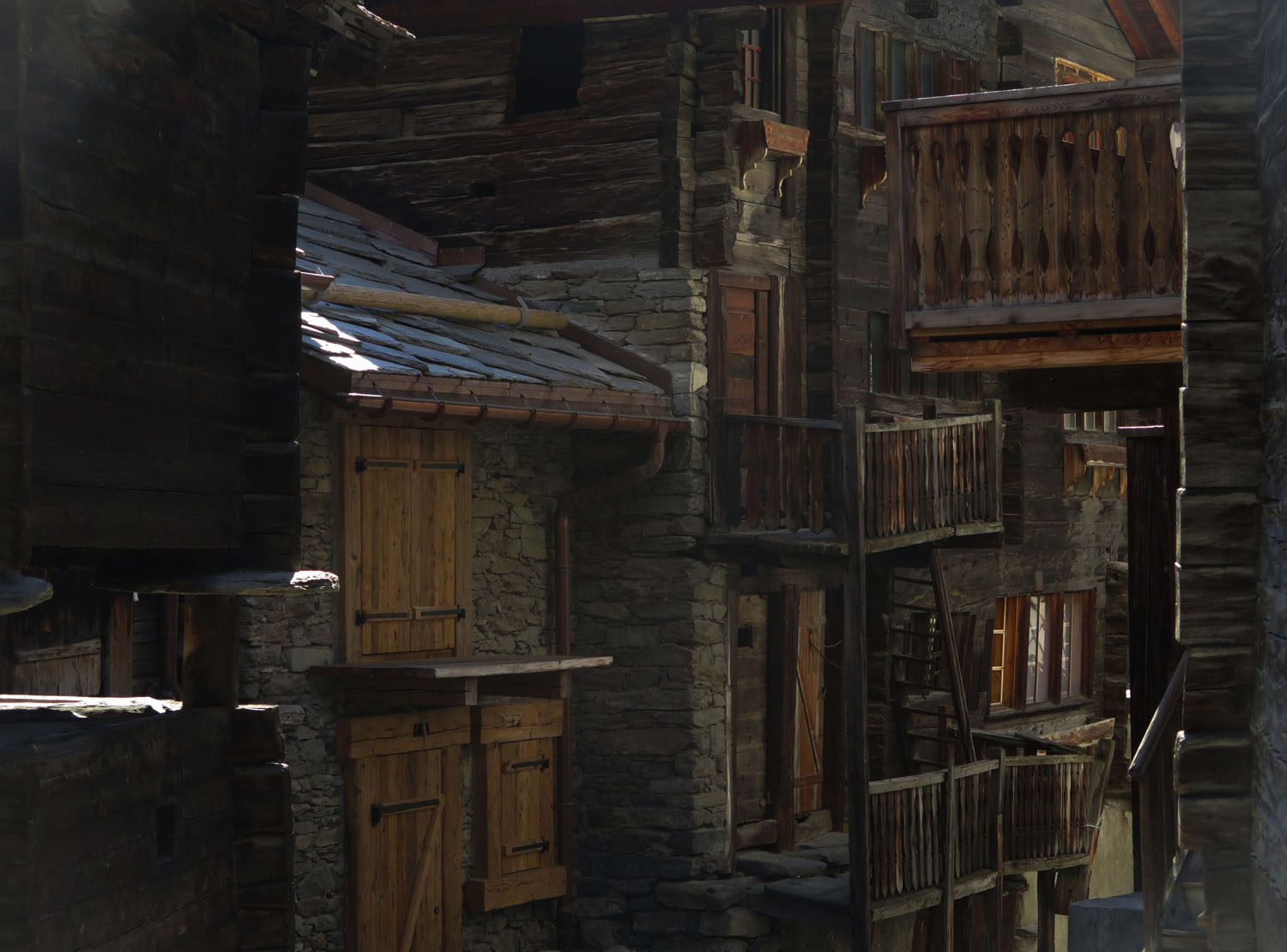 Switzerland-Zermatt-Rustic-House