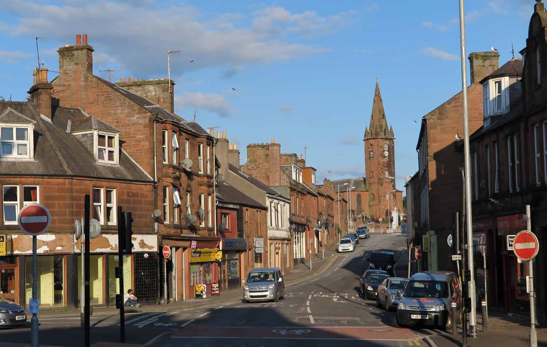 Scotland-Lowlands-Dumfries-Street