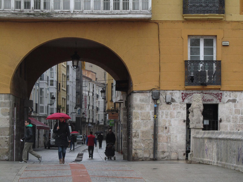 Camino-De-Santiago-Sights-And-Scenery-Burgos-Arch