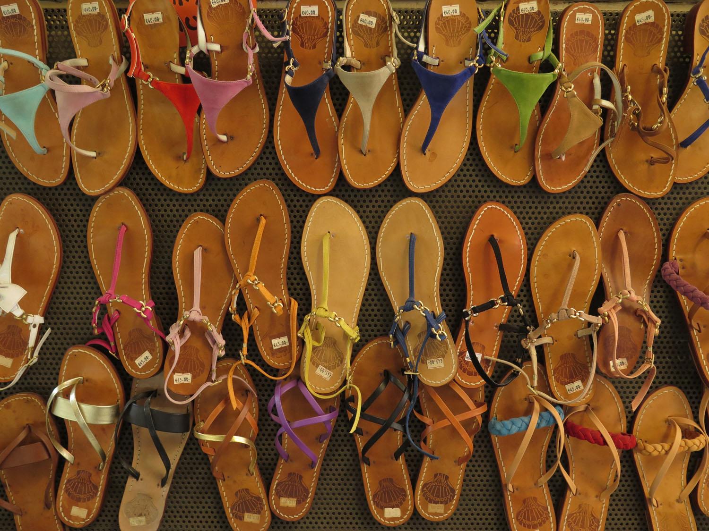 Italy-Sorrento-Sandals