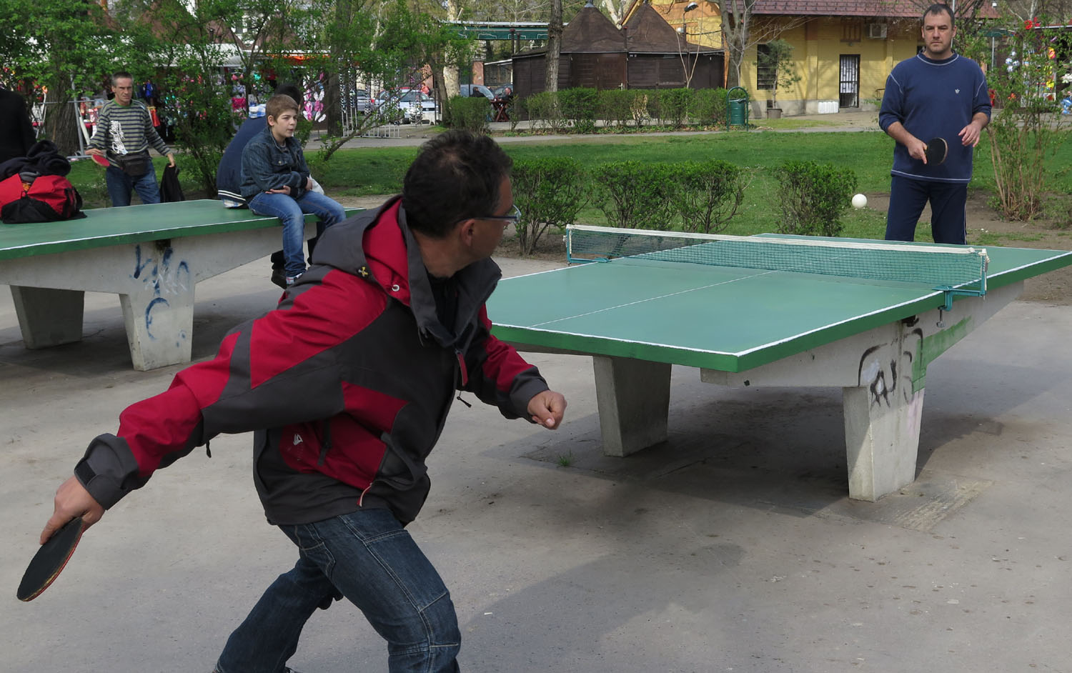 Hungary-Budapest-Millenium-Park-Ping-Pong