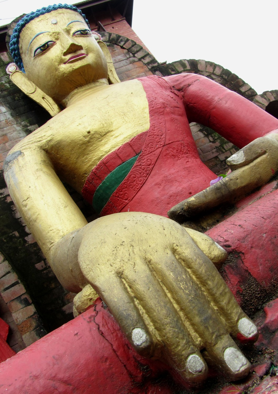 Nepal-Kathmandu-Monkey-Temple-Buddha