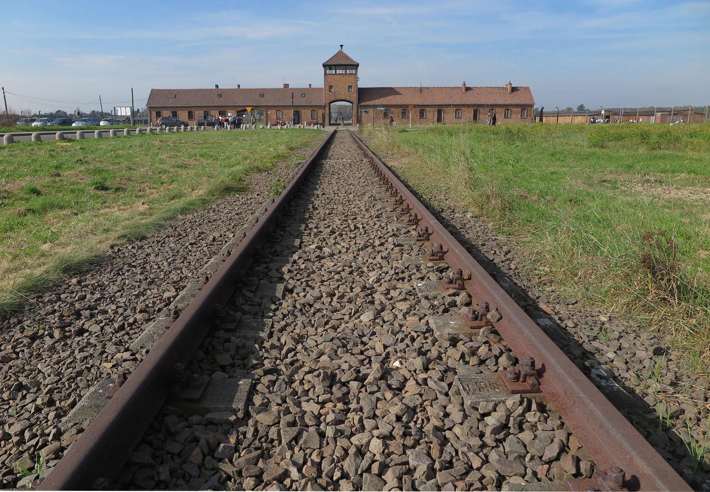 Poland-Auschwitz-Birkenau-Tracks