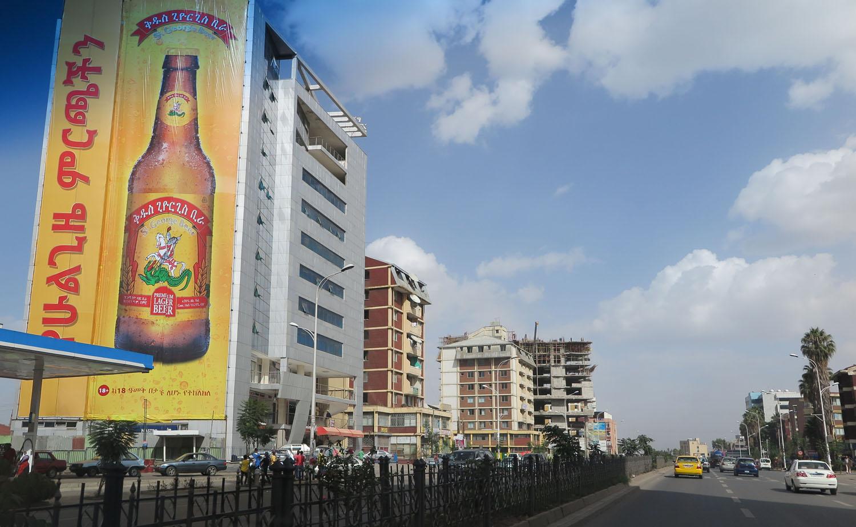 Ethiopia-Addis-Ababa-Street-Scenes-Bole-Avenue