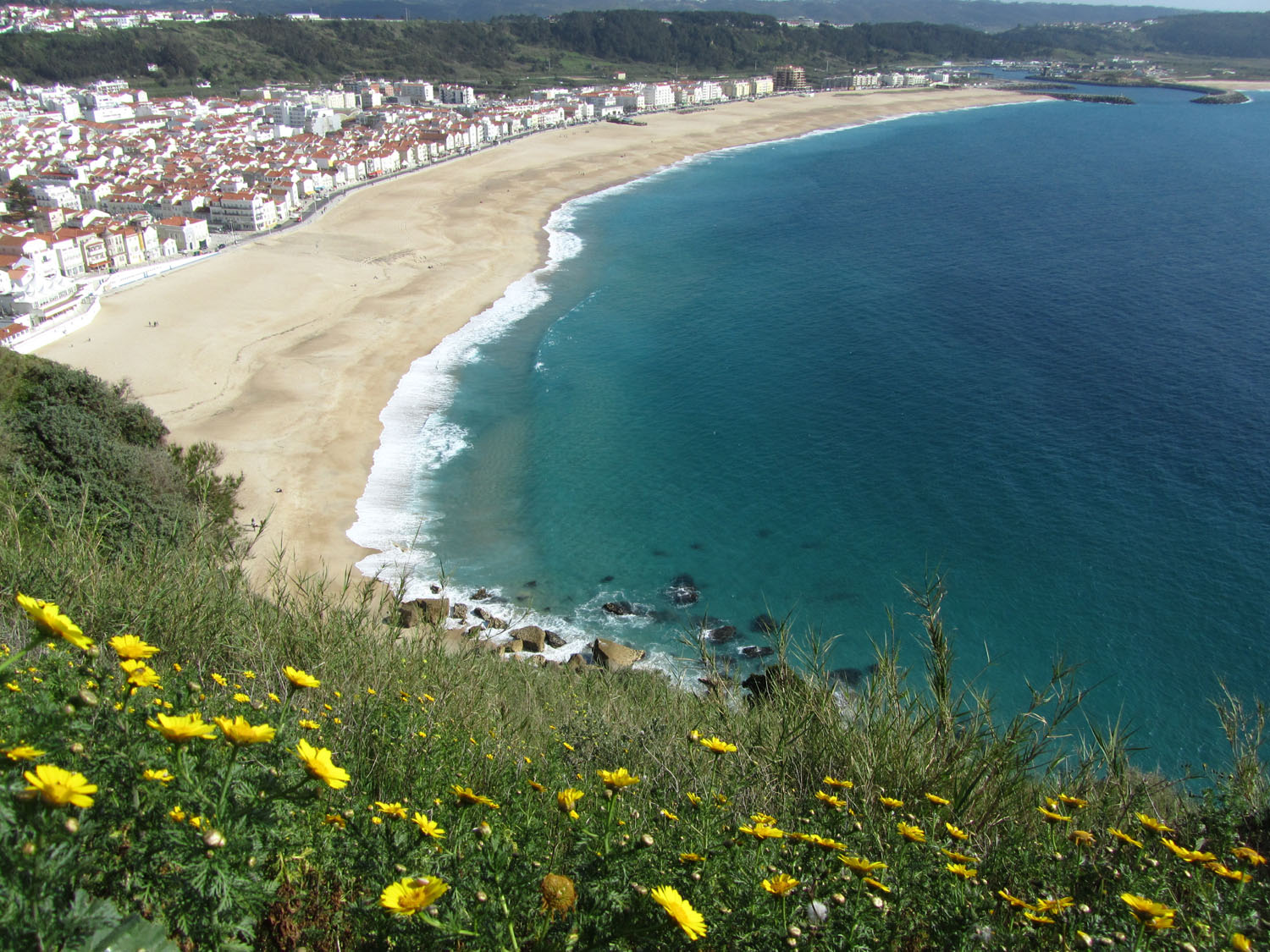 Portugal-Nazare-View-From-Sitio