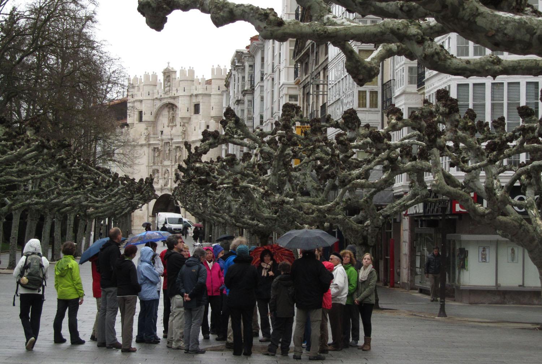 Camino-De-Santiago-Sights-And-Scenery-Burgos-Tourists