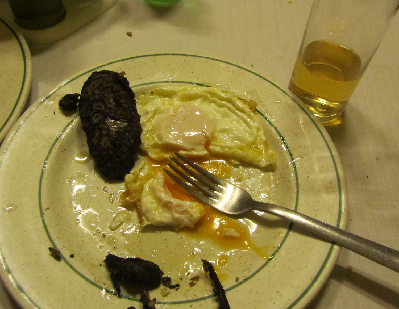 Camino-De-Santiago-Food-And-Drink-Morcilla