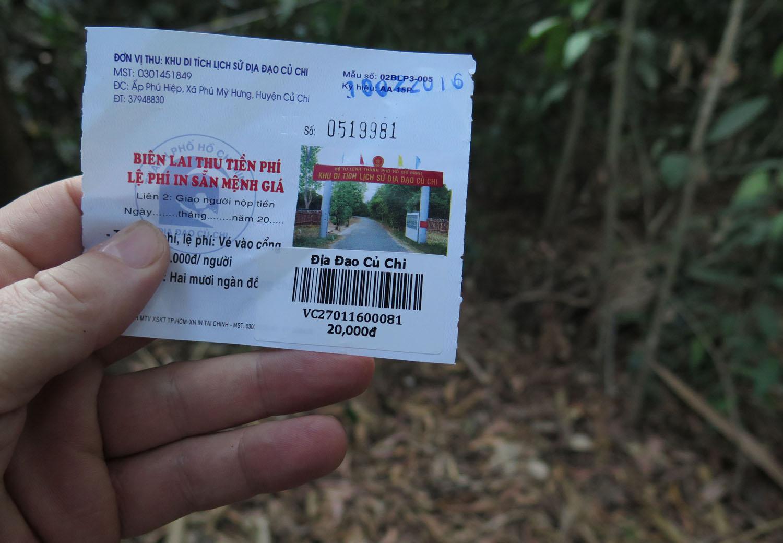 Vietnam-Cu-Chi-Tunnels-Ticket