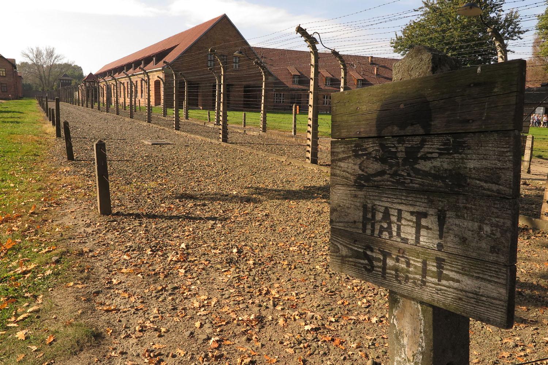 Poland-Auschwitz-Halt