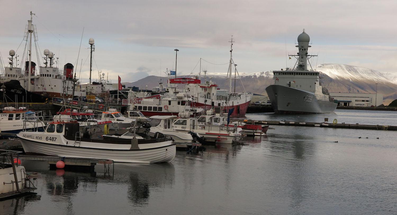 Iceland-Reykjavik-Harbor