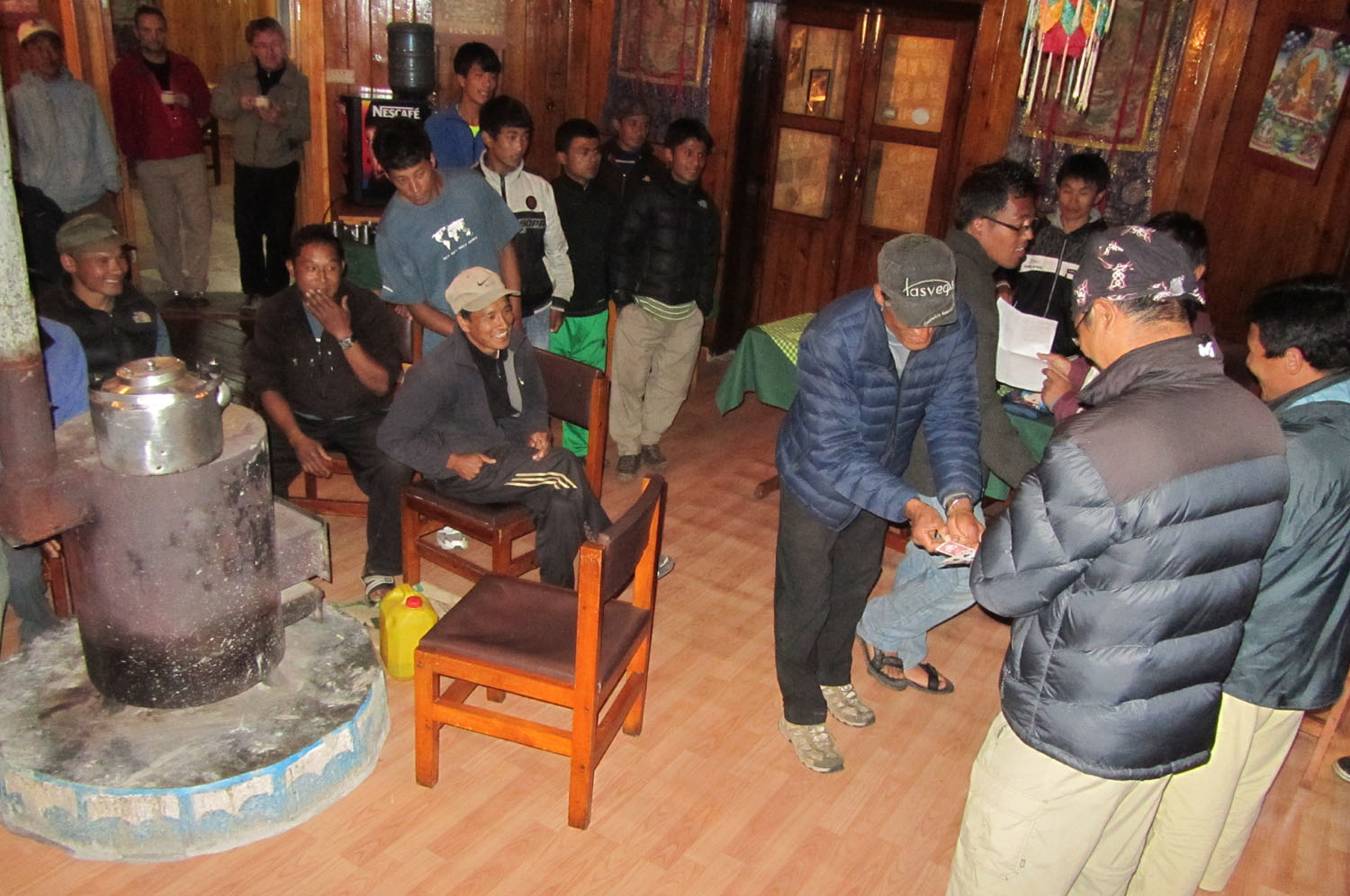 Nepal-Everest-Region-Trek-Day-09-Party-Lottery