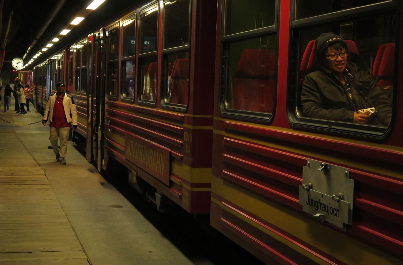 Switzerland-Bernese-Oberland-Jungfrau-Railway-Stop