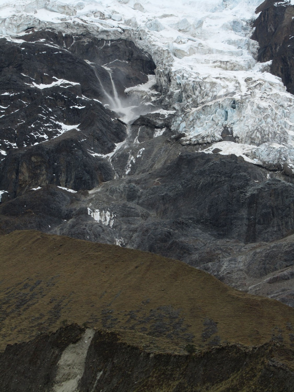 Peru-Salkantay-Trek-Day2-Humantay-Avalanche