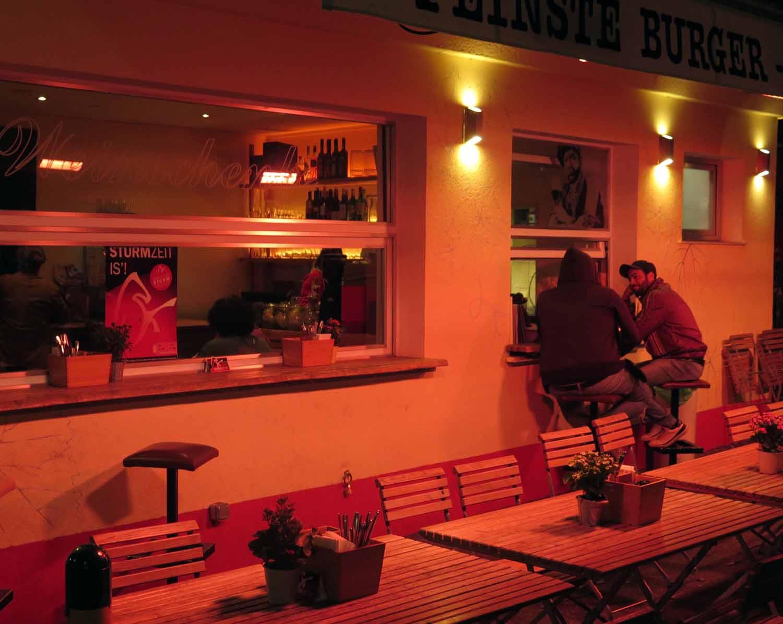 Austria-Vienna-Street-Scenes-Burger-Stand