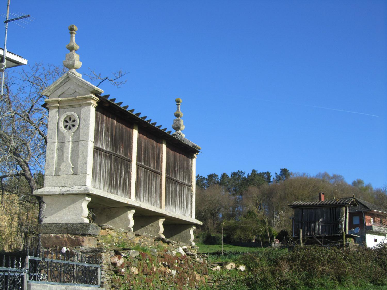 Camino-De-Santiago-Sights-And-Scenery-Grain-Storage