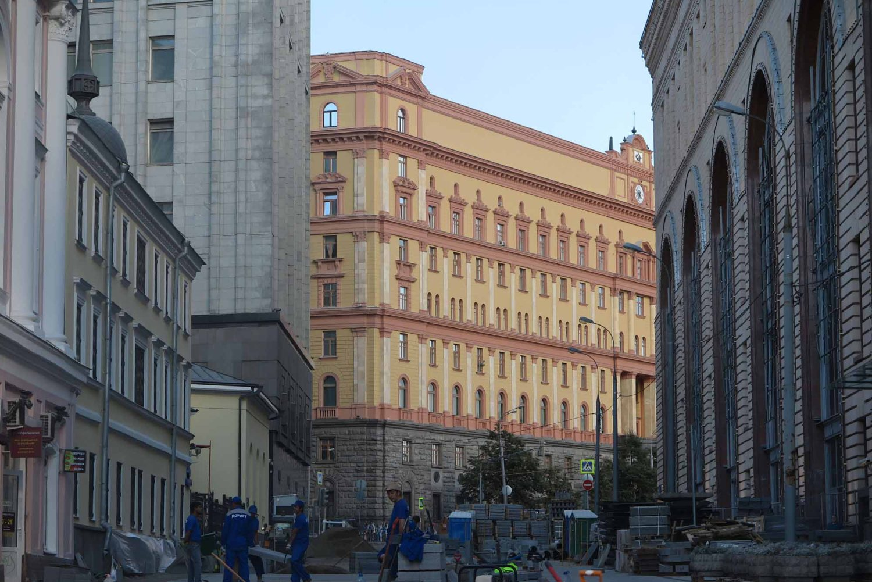 Russia-Moscow-Street-Scenes-KGB-FSB-Building