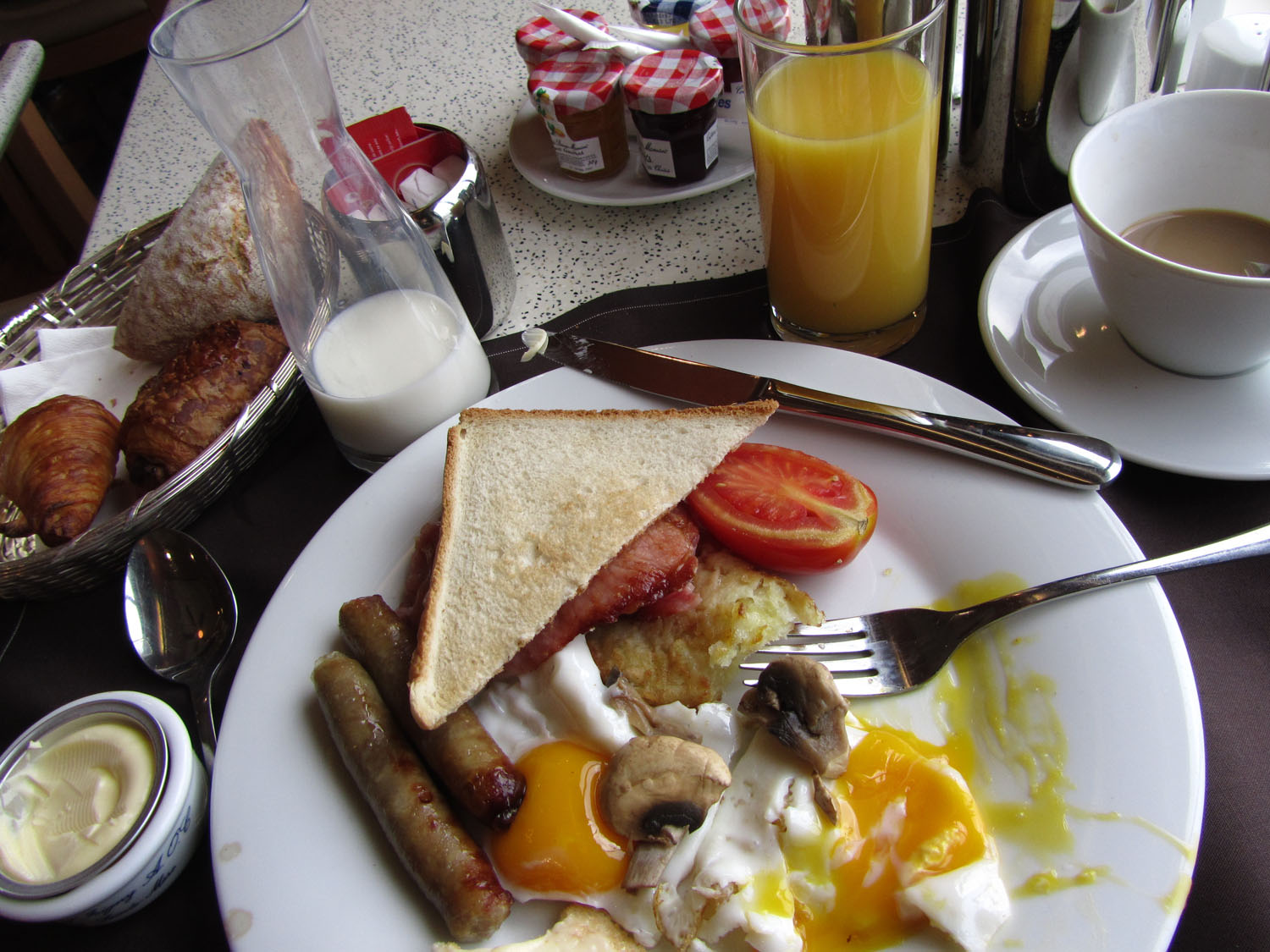 England-London-Food-And-Drink-Breakfast