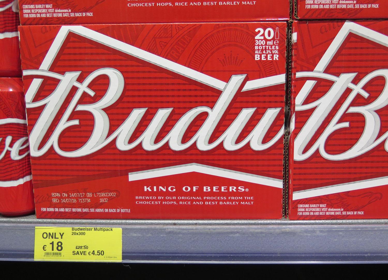 Ireland-Food-And-Drink-Budweiser