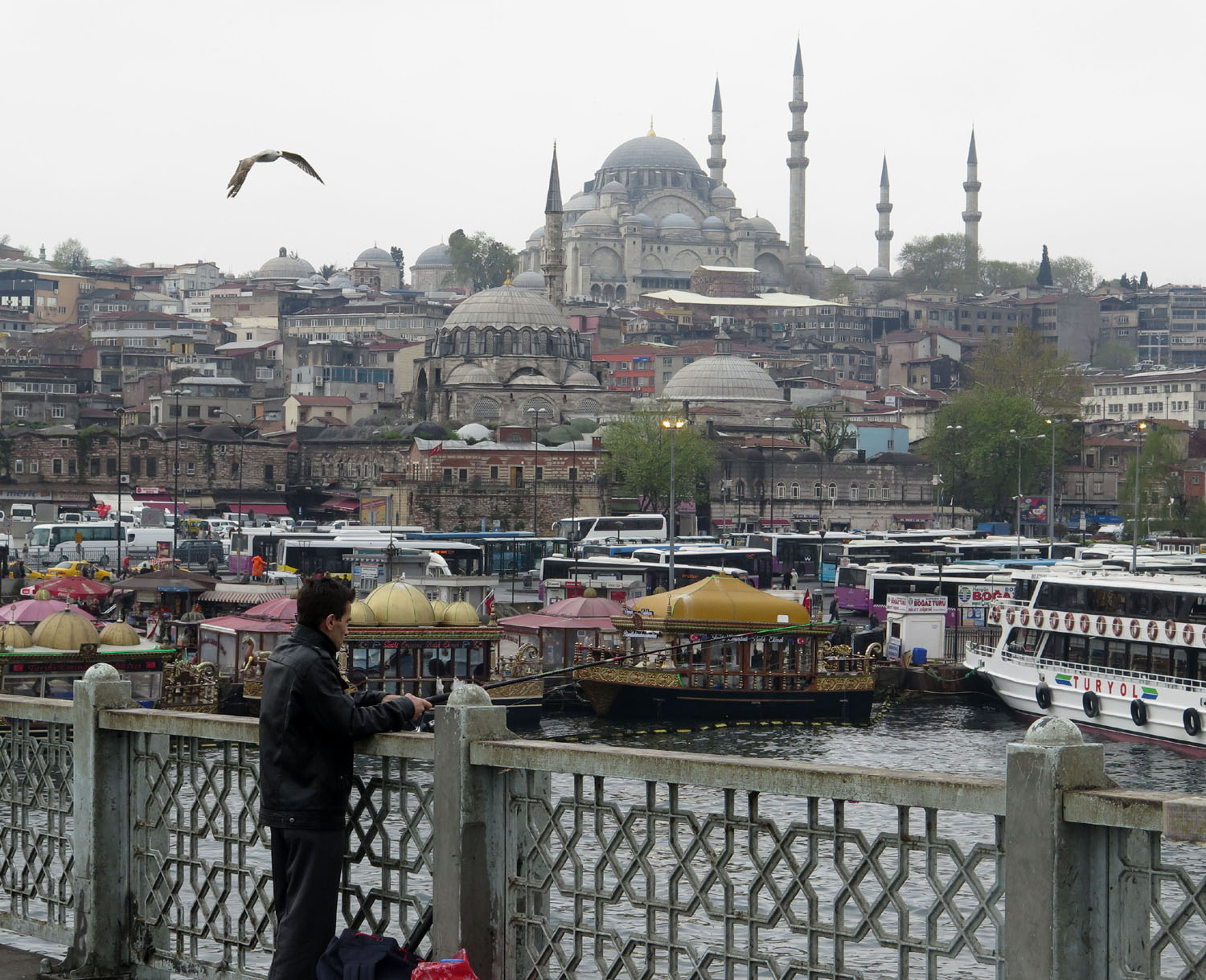 Turkey-Istanbul-Galata-Bridge-Fishing