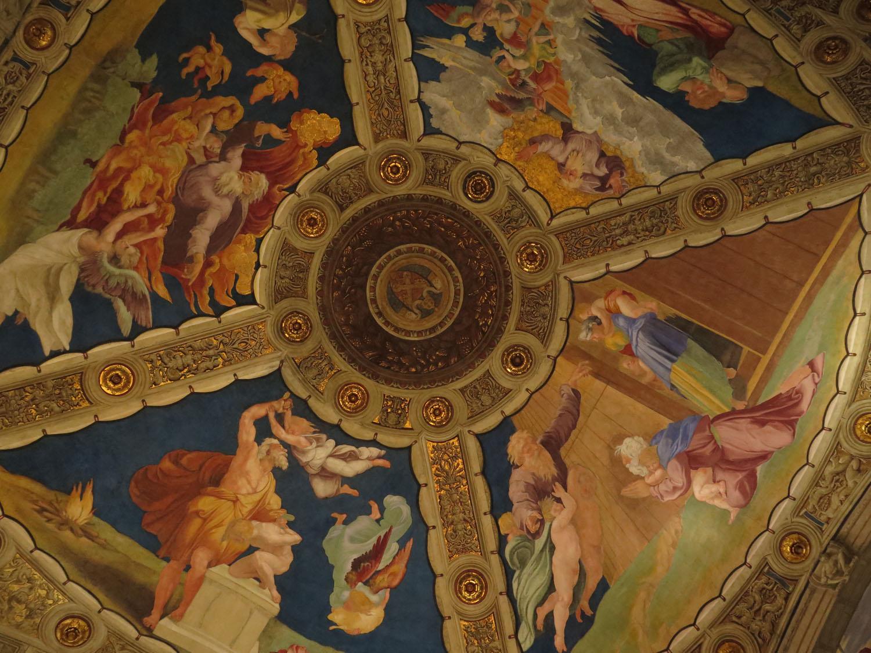 Italy-Rome-Vatican-Museum-Ceiling