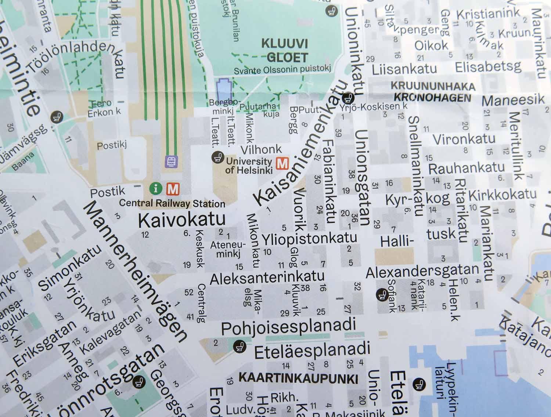 Finland-Helsinki-Street-Map