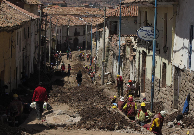 Peru-Cusco-Streets-Construction