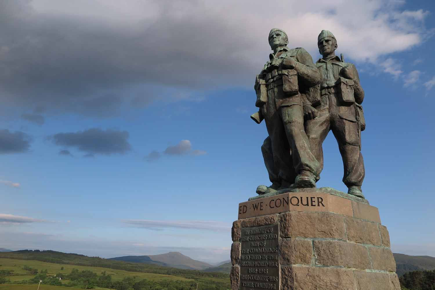 Scotland-Highlands-Commando-Memorial