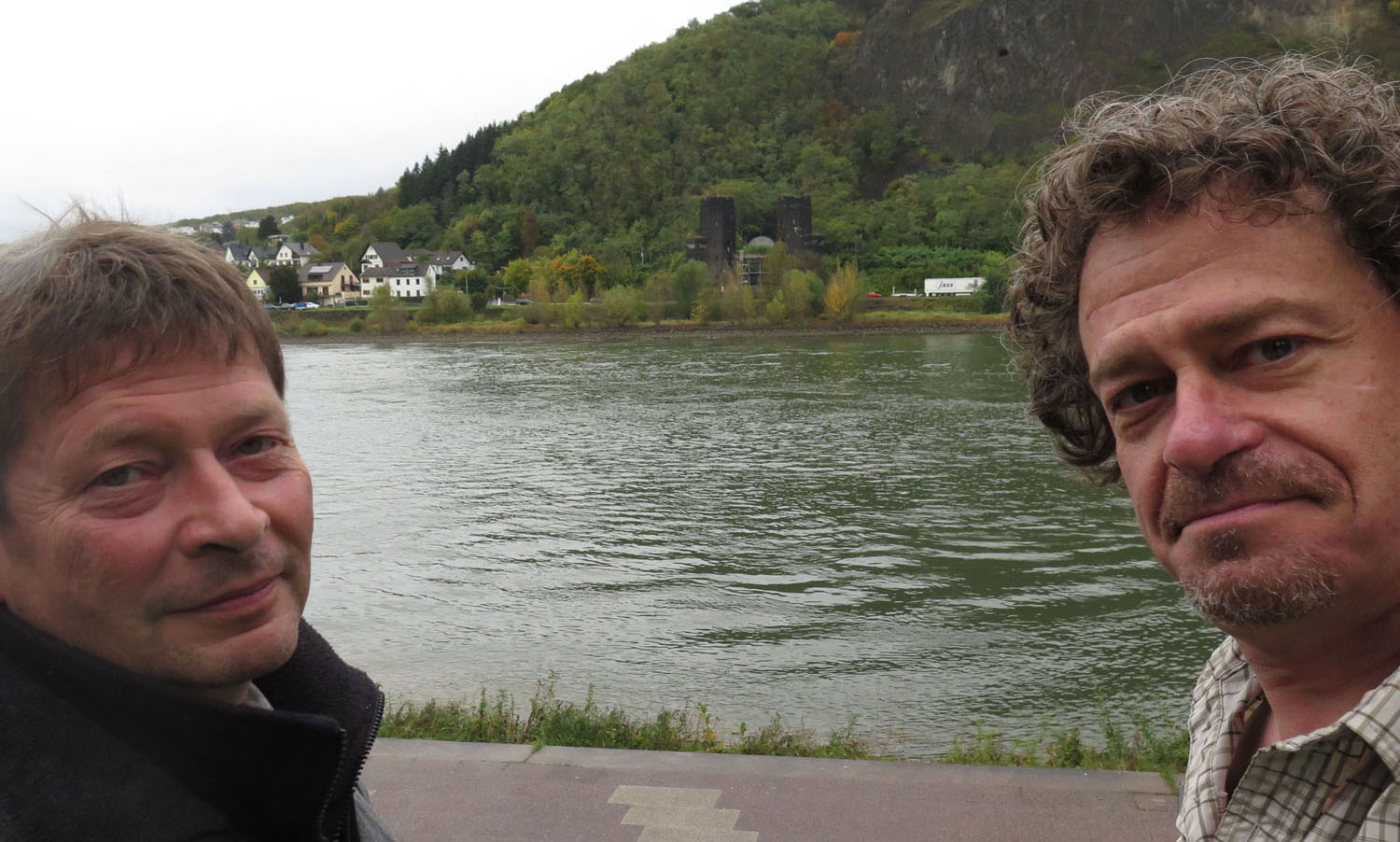 Germany-Bridge-At-Remagen-Peace-Museum-Ralf-Volunteer-And-Historian-Frank