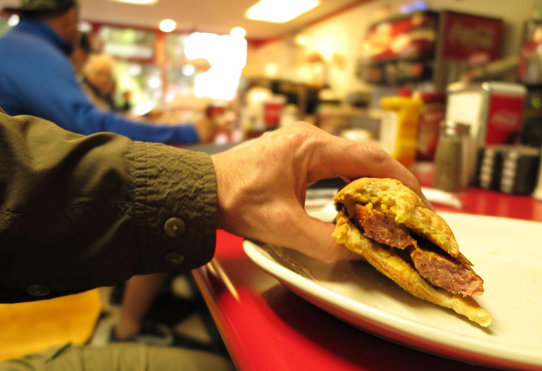 Alaska-Ketchikan-Pioneer-Cafe-Caribou-Sausage