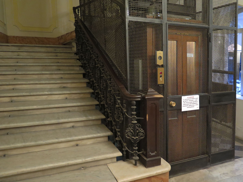 Italy-Rome-Hotel-Elevator