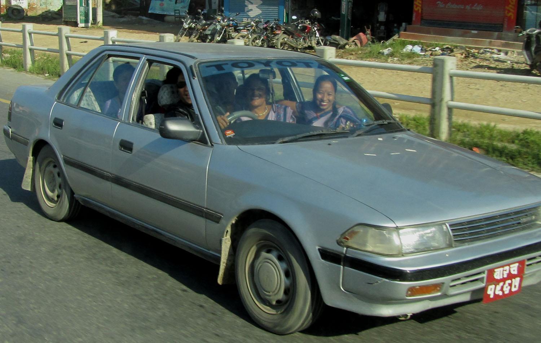 Nepal-Kathmandu-Smiles-Car