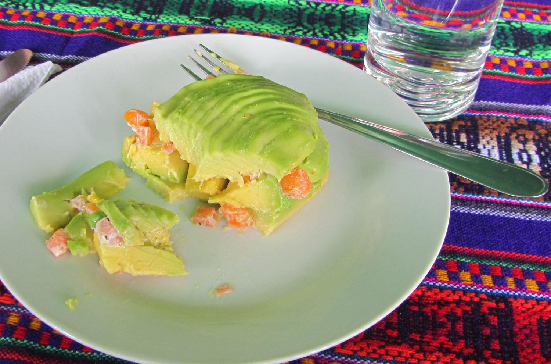 Peru-Cusco-Food-And-Drink-Avocado-Salad