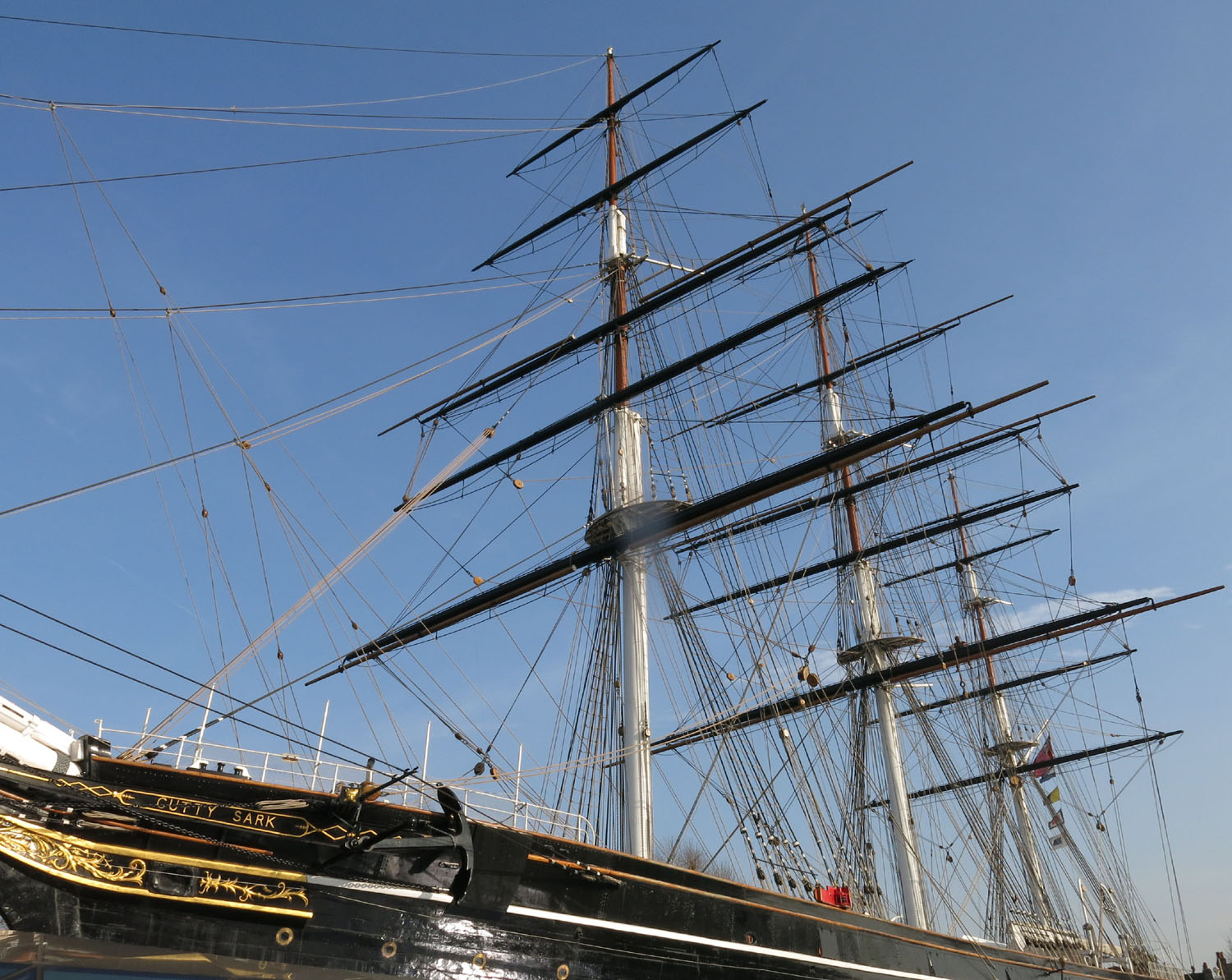 England-London-Greenwich-Cutty-Sark