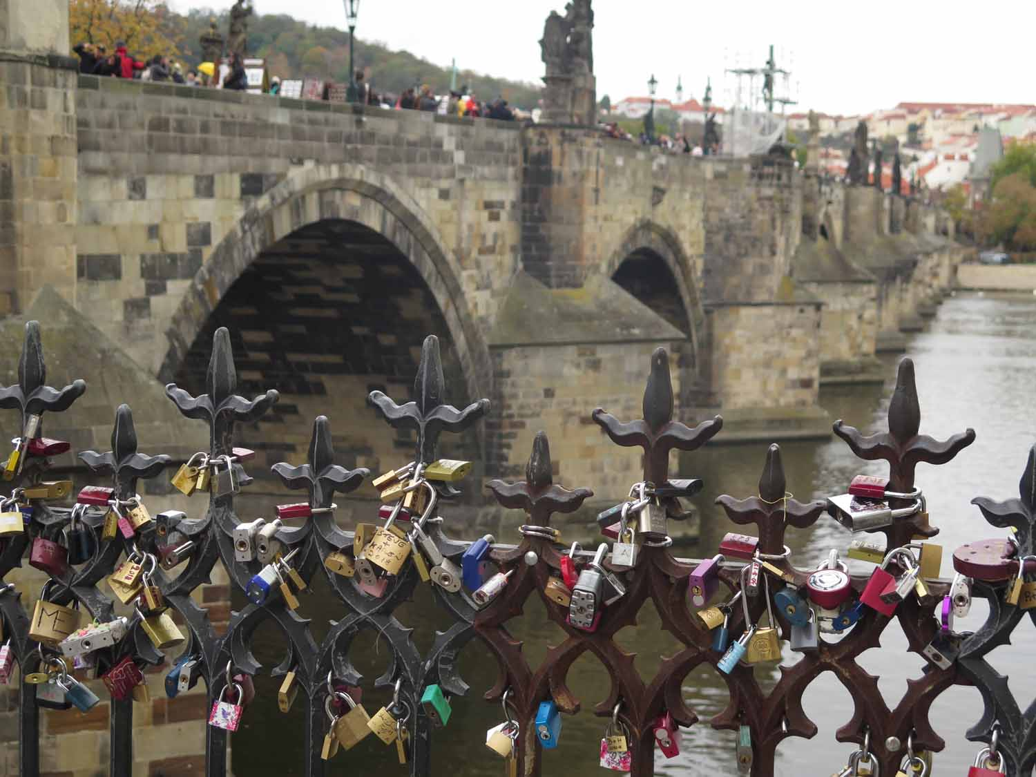 Czech-Republic-Prague-Charles-Bridge-Love-Locks