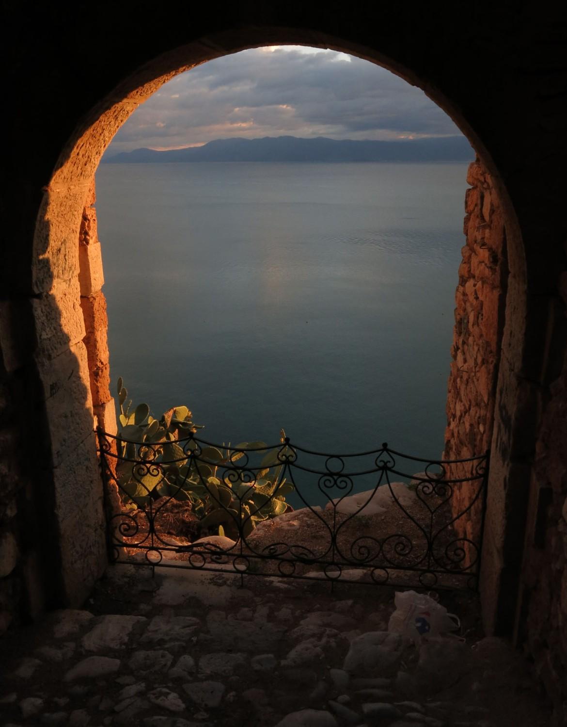 Greece-Nafplio-Arch