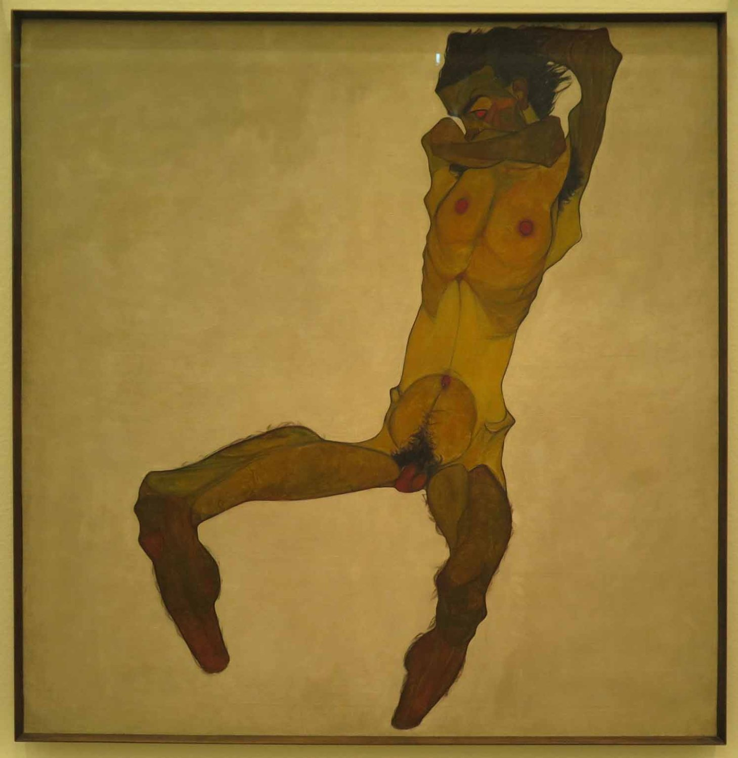 Austria-Vienna-Leopold-Museum-Egon-Schiele-Self-Portrait