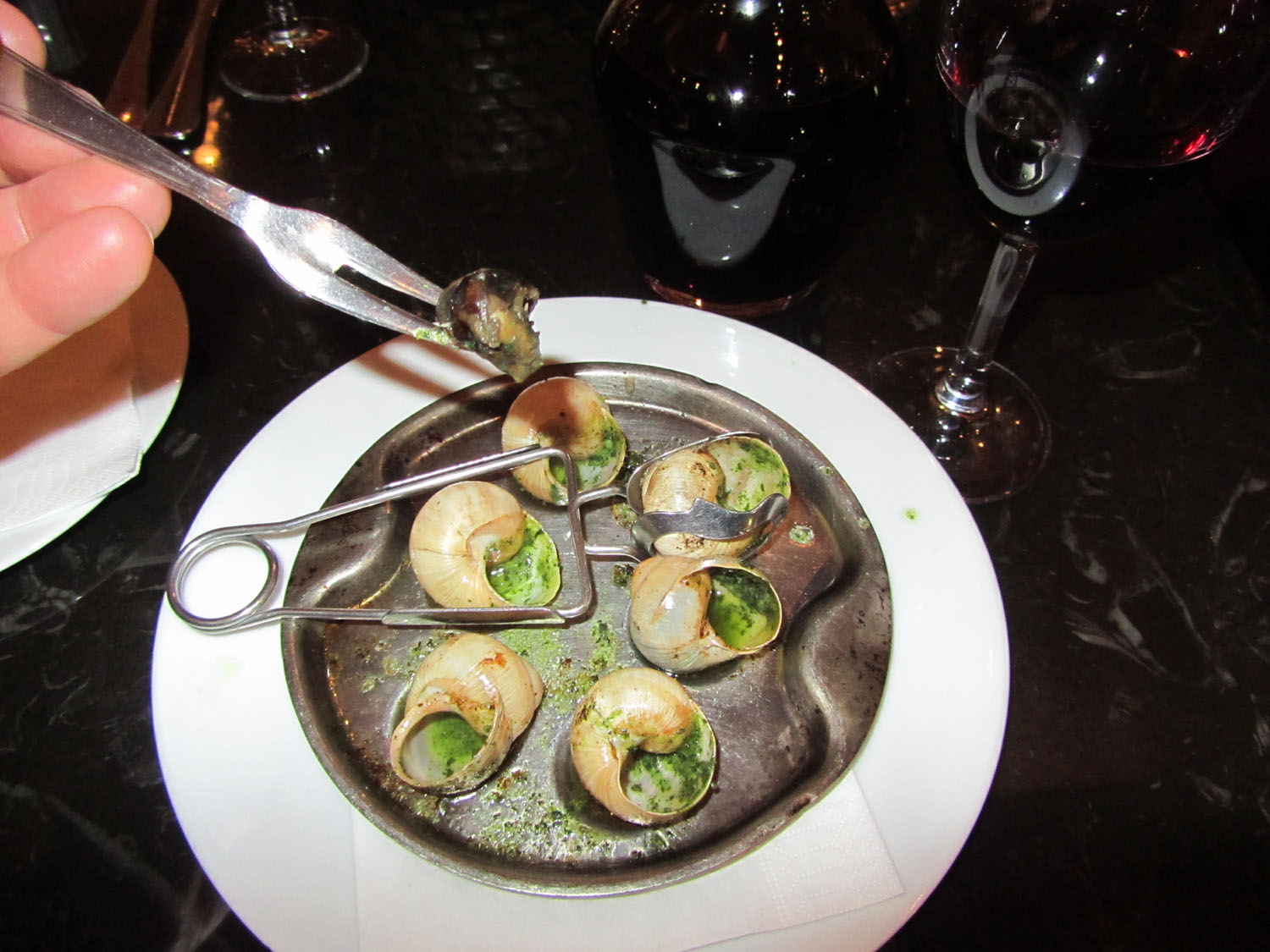 France-Paris-Food-And-Drink-Escargots