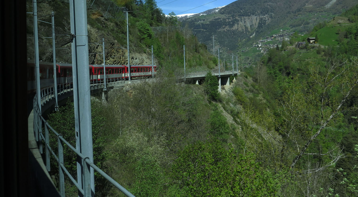 Switzerland-Zermatt-Train