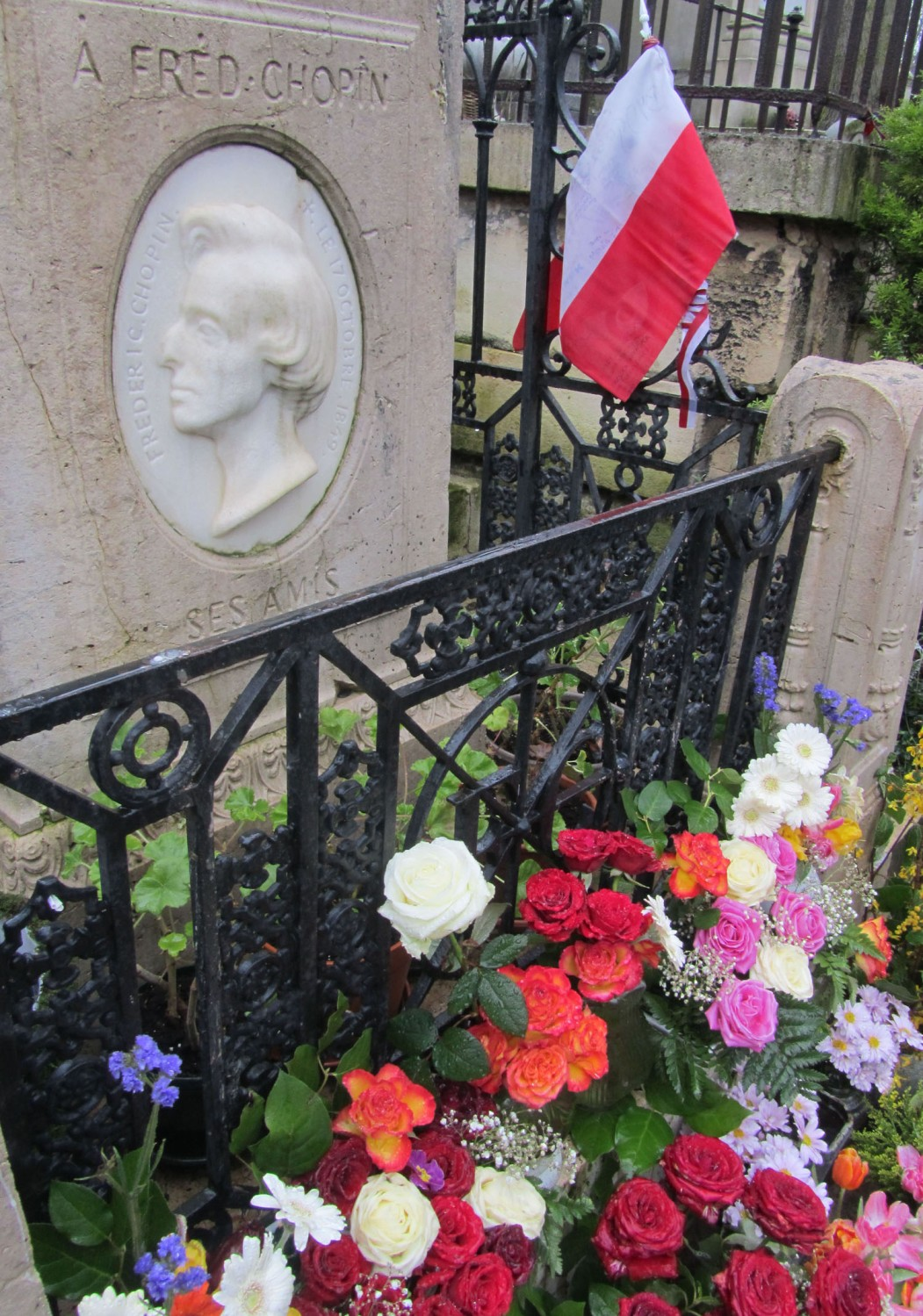 France-Paris-Pere-Lachaise-Chopin