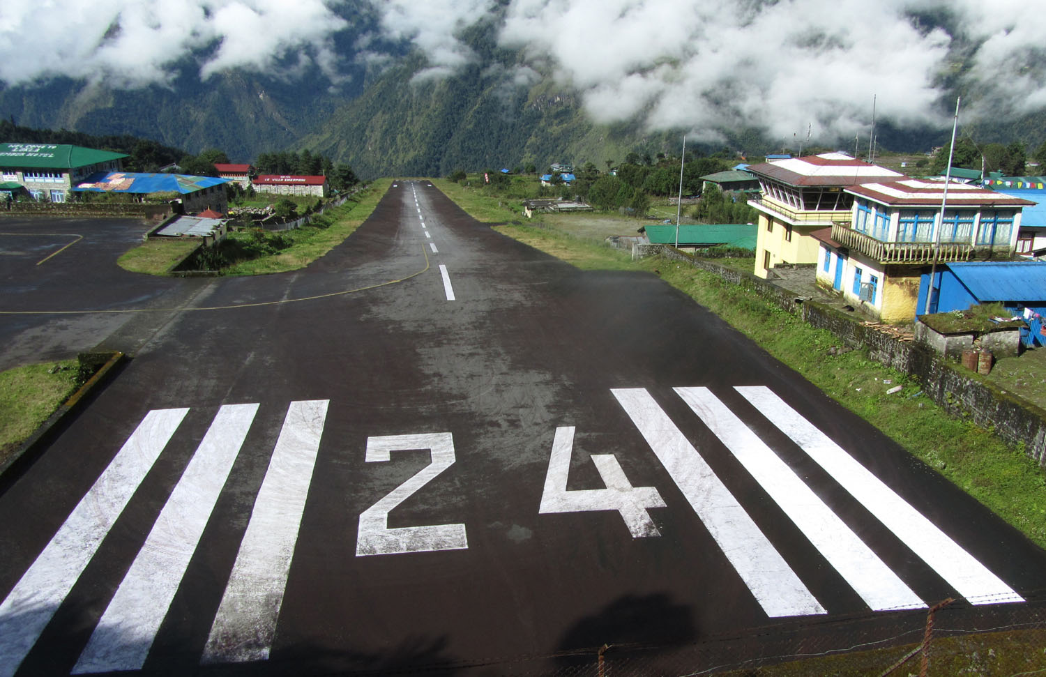 Nepal-Everest-Region-Trek-Day-01-Lukla-Runway