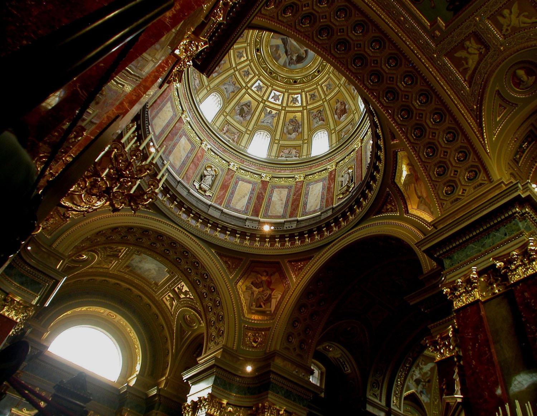 Hungary-Budapest-Saint-Stephens-Basilica-Interior