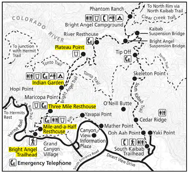 Grand-Canyon-Bright-Angel-Trail-Map
