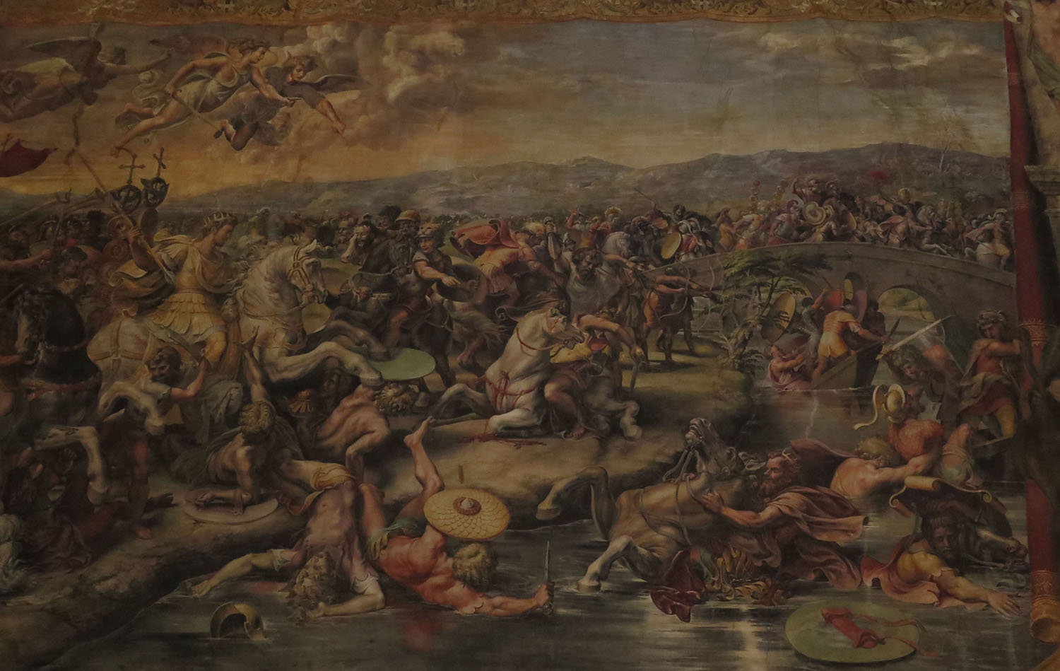 Italy-Rome-Vatican-Museum-Painting