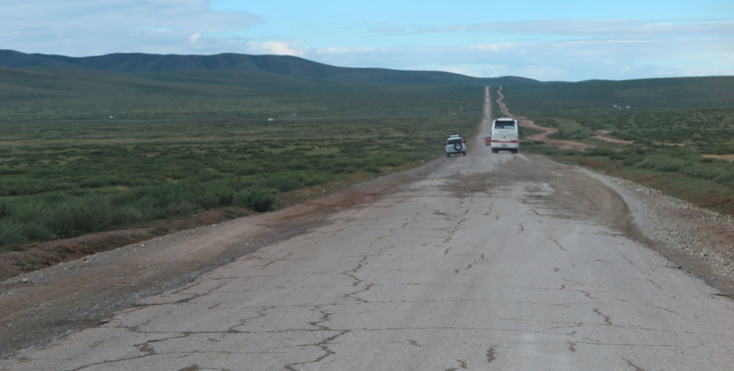 Mongolia-On-The-Road-Pavement