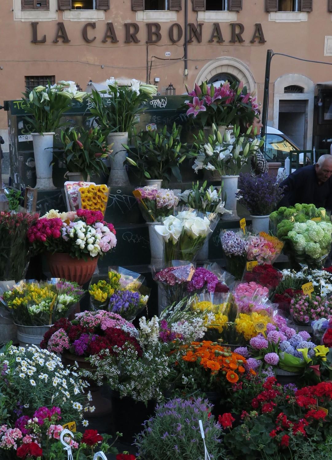 Italy-Rome-Street-Scenes-Flowers