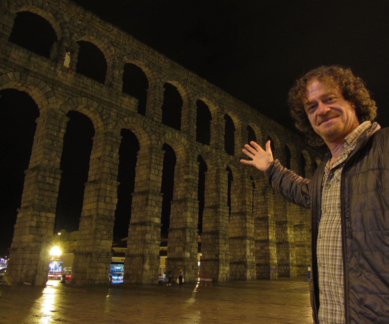 Spain-Segovia-Aqueduct