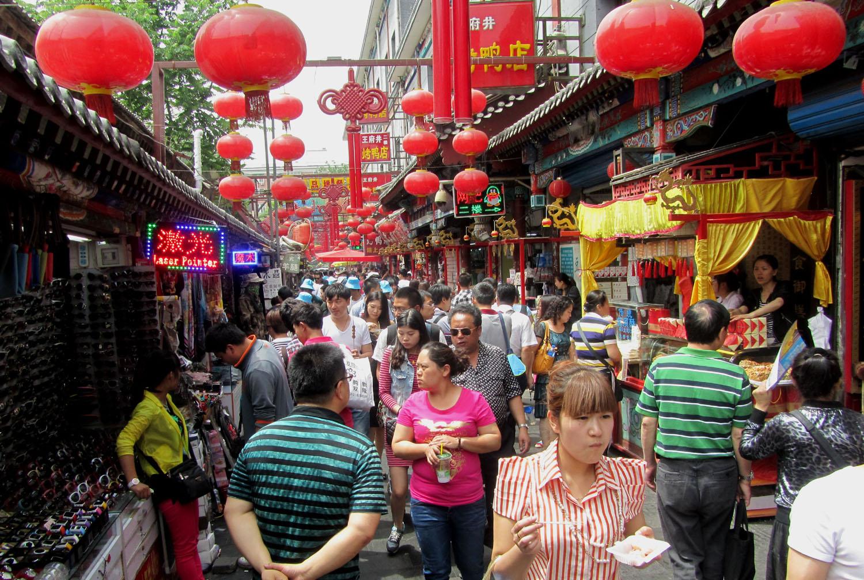 China-Beijing-Market