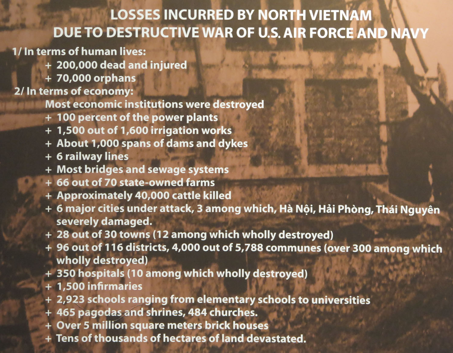 Vietnam-Ho-Chi-Minh-City-War-Remnants-Museum-Cost-In-North